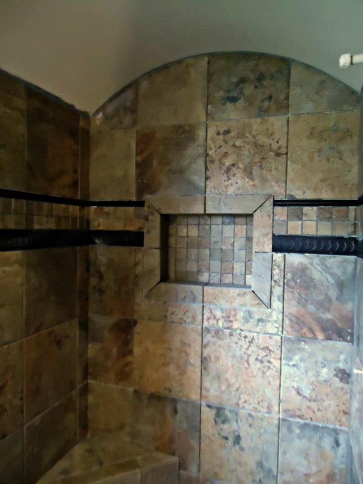what kind of tiles should be used for showers