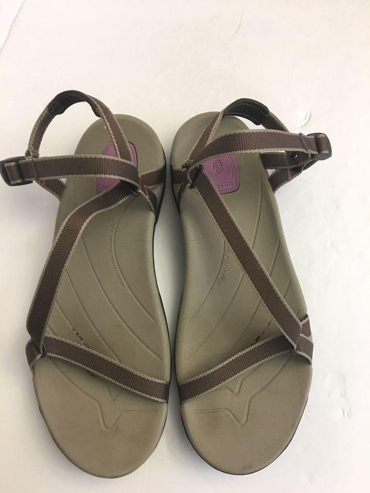 Size Strap Sandals Sirra Nylon 10fashion Teva Brown Beige Sport nOP80kNwXZ
