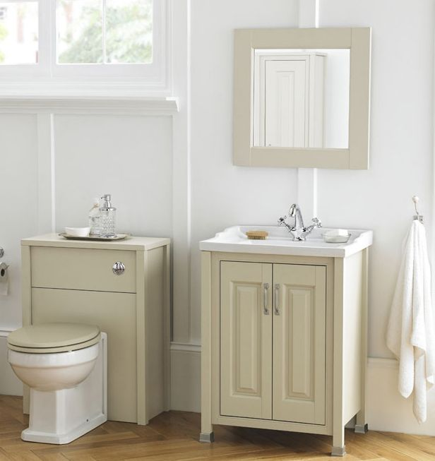 Strong And Striking Vertical And Horizontal Lines Bring A Touch Of Early 20th Century Style With The Ivory Range Vanity Bathroom Vanity Units Vanity Units