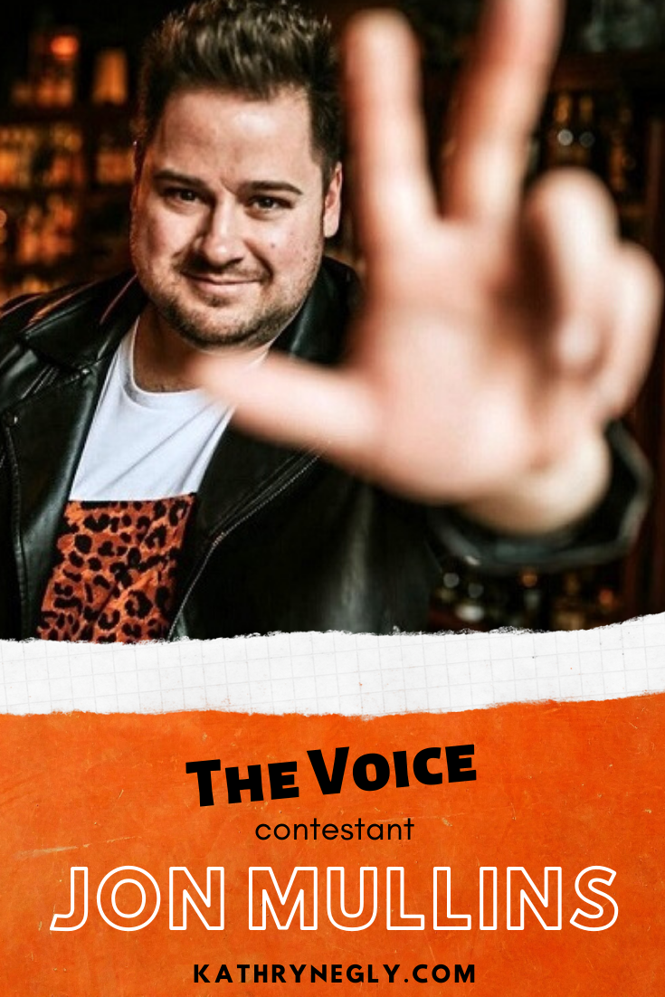 13 questions with The Voice Contestant Jon Mullins This