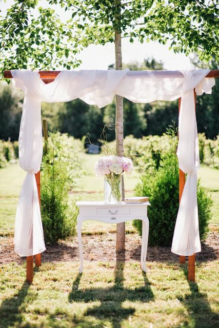 Jessica Mark 6 8 13 Ceremony Decorations Unity Candle Table