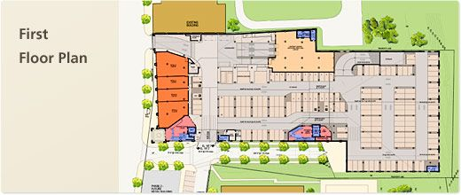 Safeway georgetown first floor plan hypermarket plan pinterest for Grocery store design layout planning services