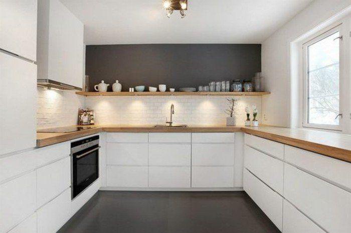 awesome Idée relooking cuisine - luminaire-de-cuisine-meubles-led-de