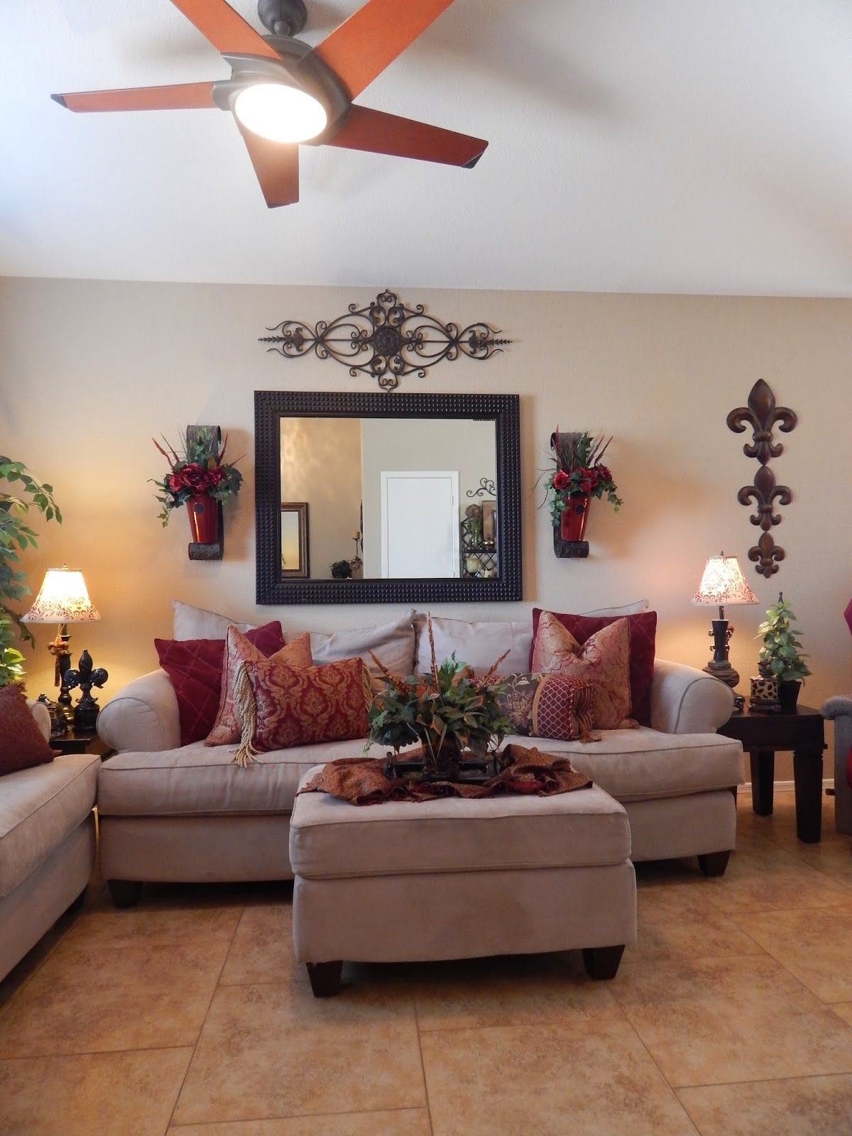 No place like our home front living room tour dream home