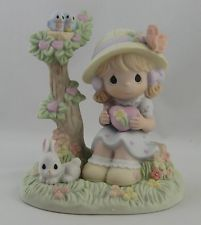 "Precious Moments Figurine ""MAY YOUR WORLD BE FILLED WITH LOVE""- 610058 NIB"