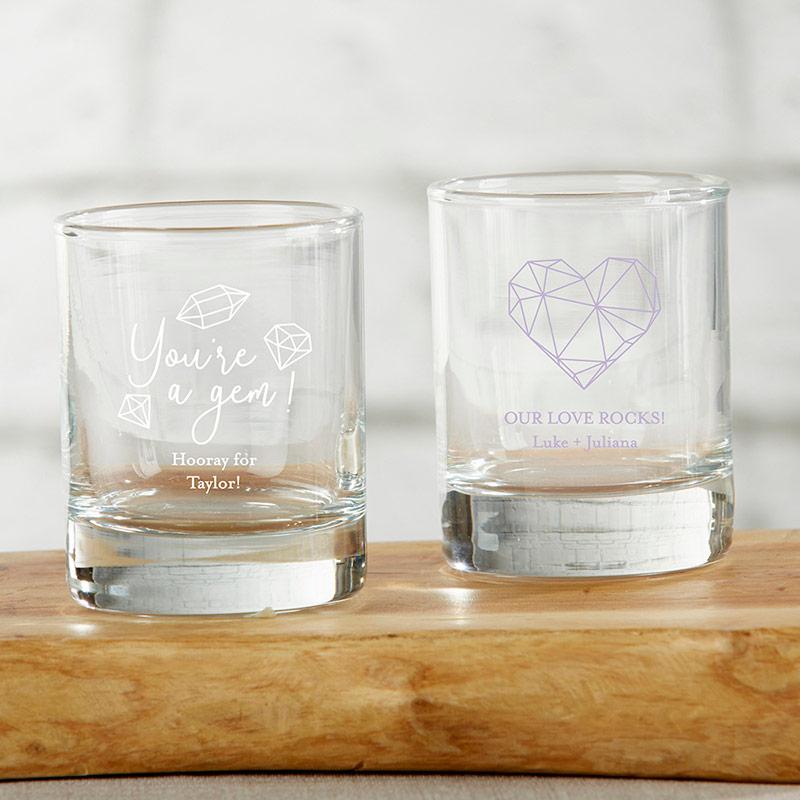 Personalized 2 Oz Shot Glass Votive Holder Elements The Aspen Shops Glass Votive Holders Personalized Shot Glass Shot Glass Favors