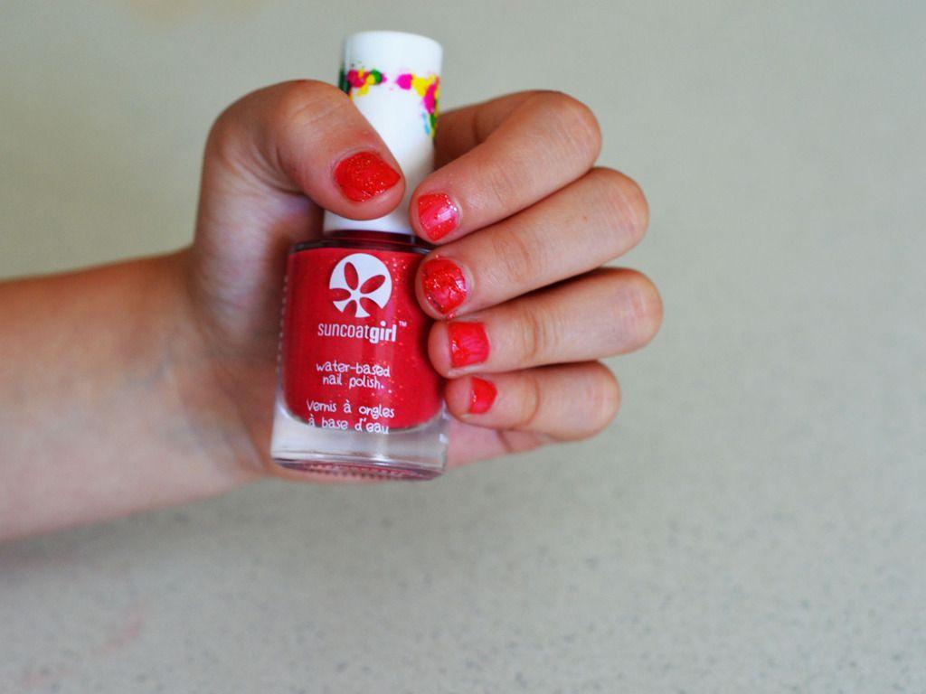SuncoatGirl: Canadian Made Water-Based Nail Polish For Kids ...