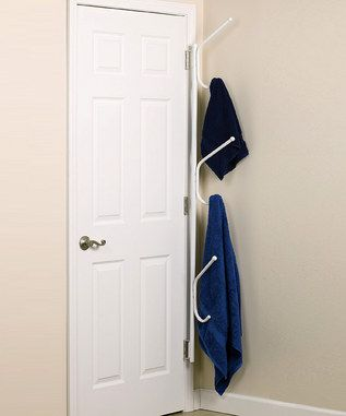 What A Good Space Saving Idea Only If My Bathroom Door Was In A Corner Space Saving Room Doors