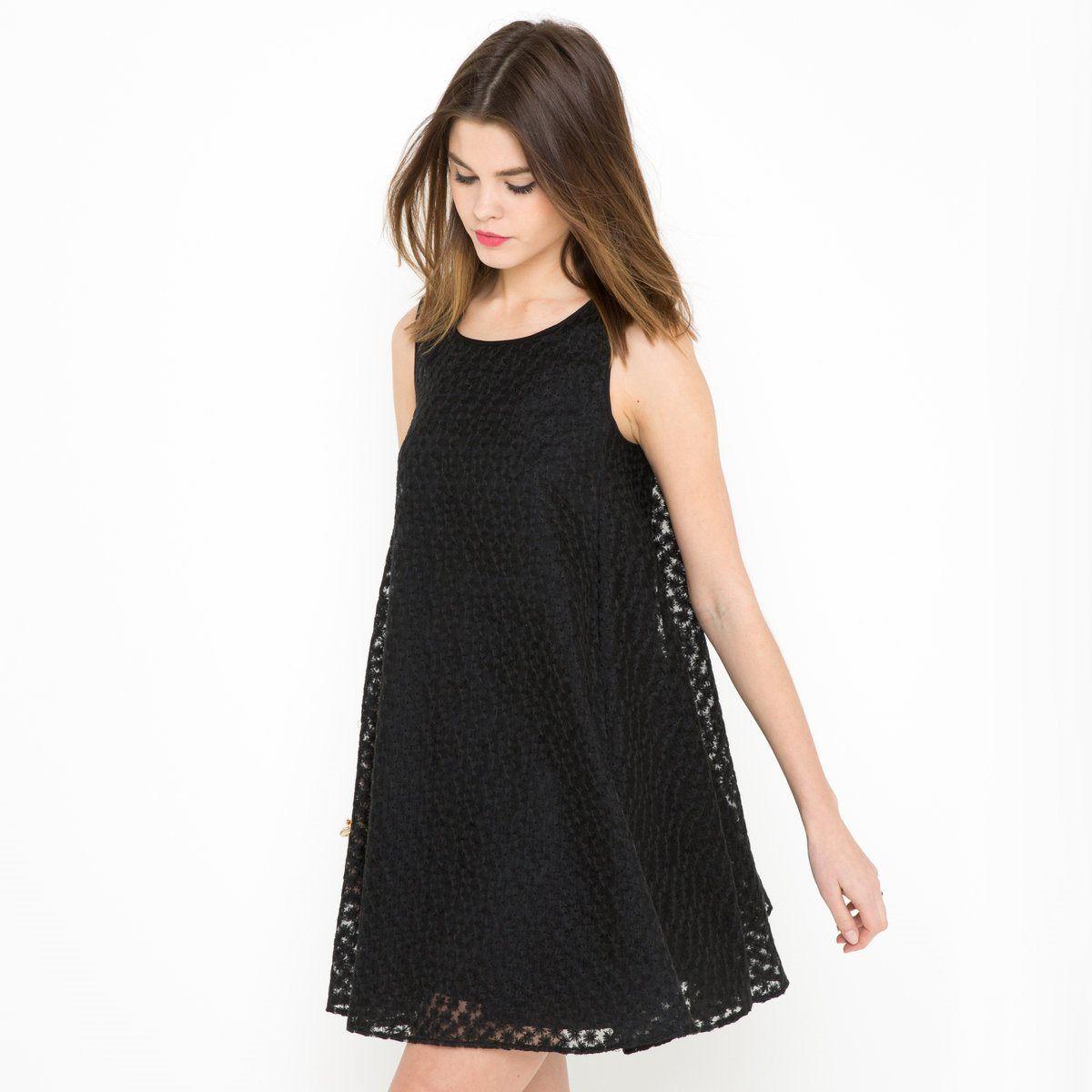 Платье из вышитой органзы Mademoiselle R | La Redoute