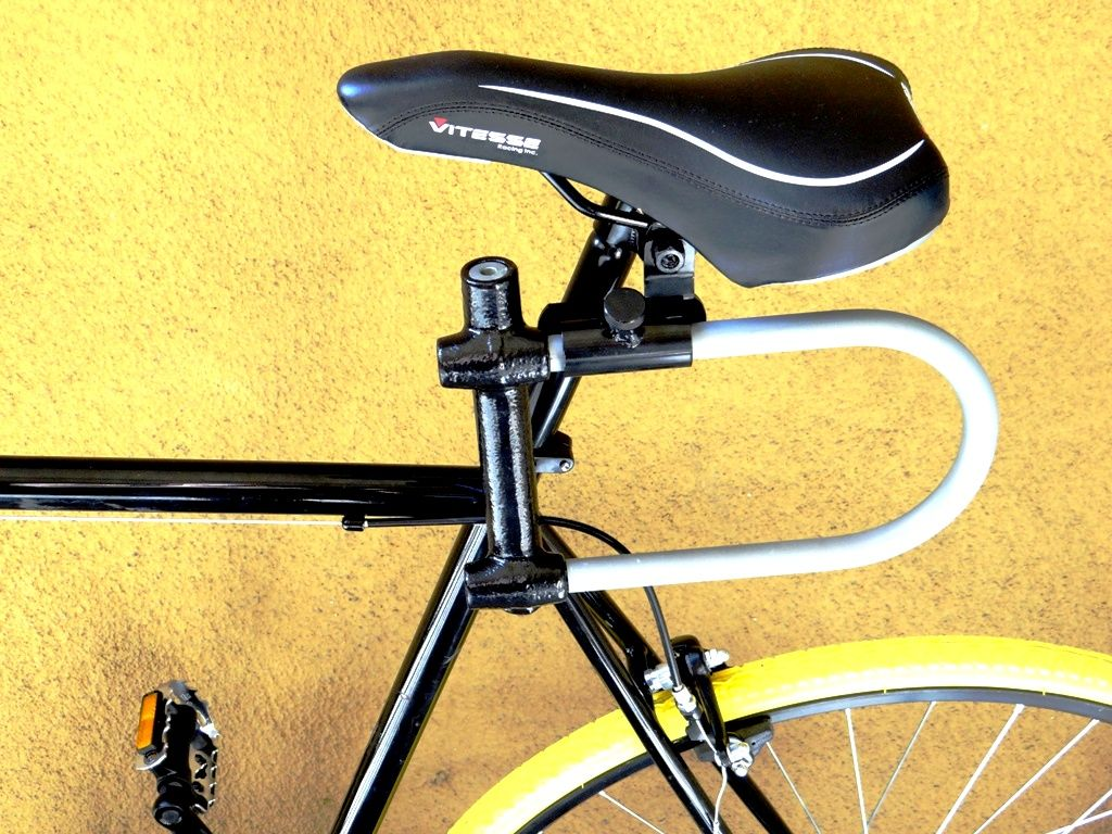 The U Lock Holder Bracket Bicycle Seat Bracket Bicycle Seats