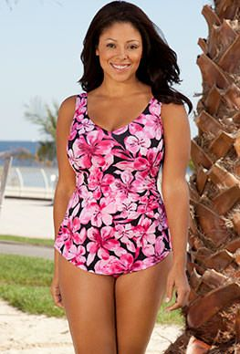 One Piece Swimwear and Swimsuits