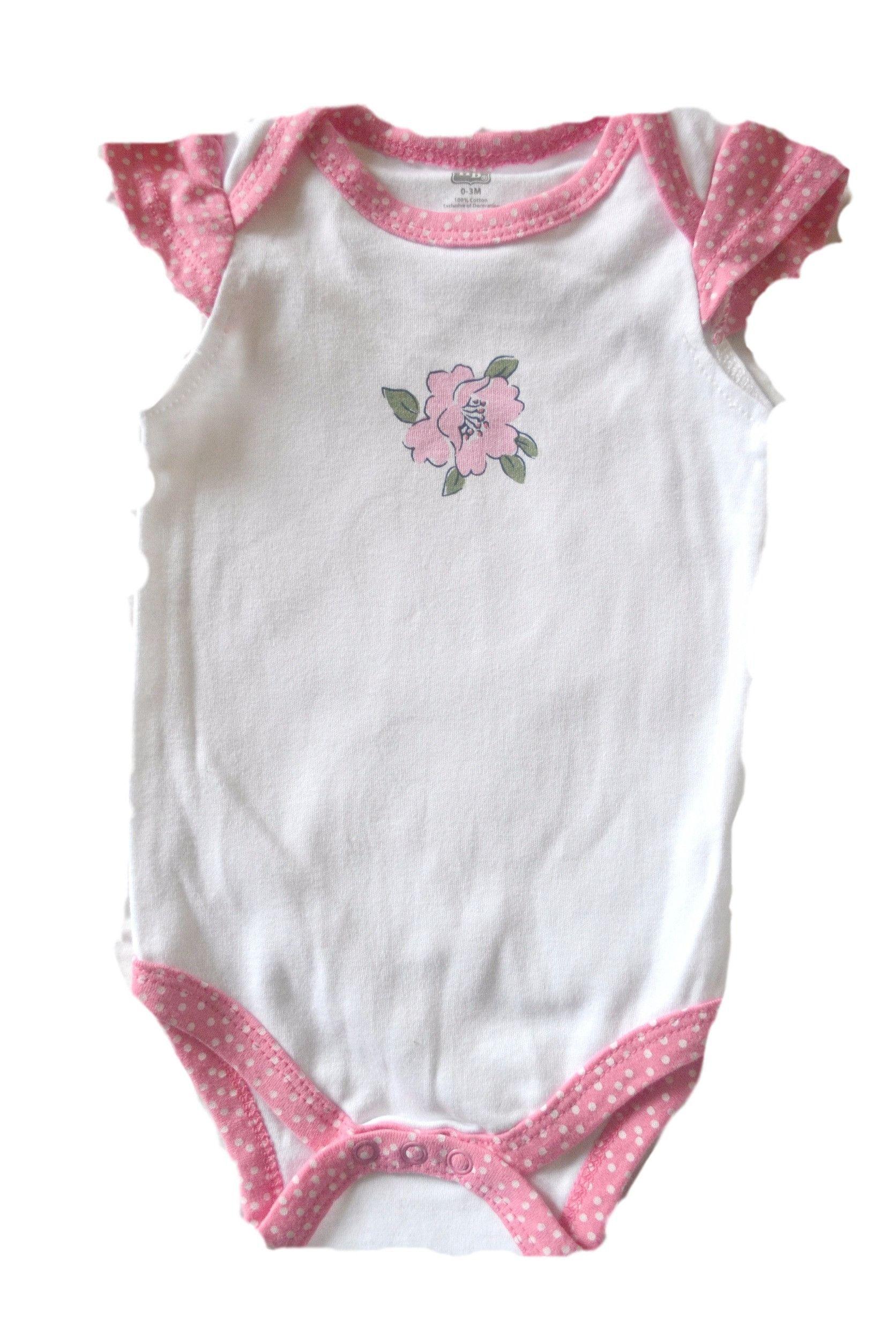 Hudson Baby Lone Flower Bodysuit
