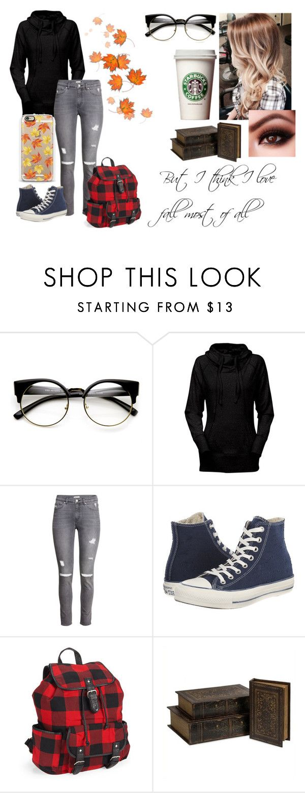 """fall"" by kawai-emo ❤ liked on Polyvore featuring ZeroUV, H&M, Converse, Aéropostale, IMAX Corporation and Casetify"