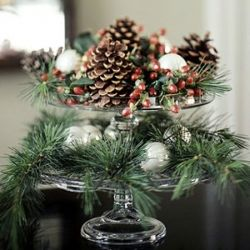 5 easy christmas centerpieces using cake stands and other holiday