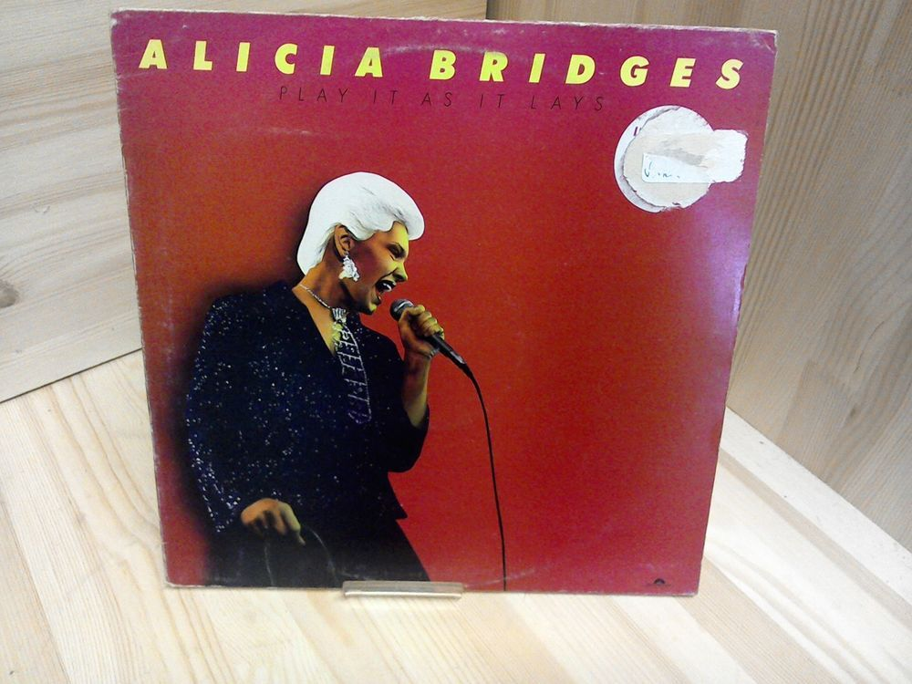 Alicia Bridges Play It As It Lays Very Good Vinyl Lp Record