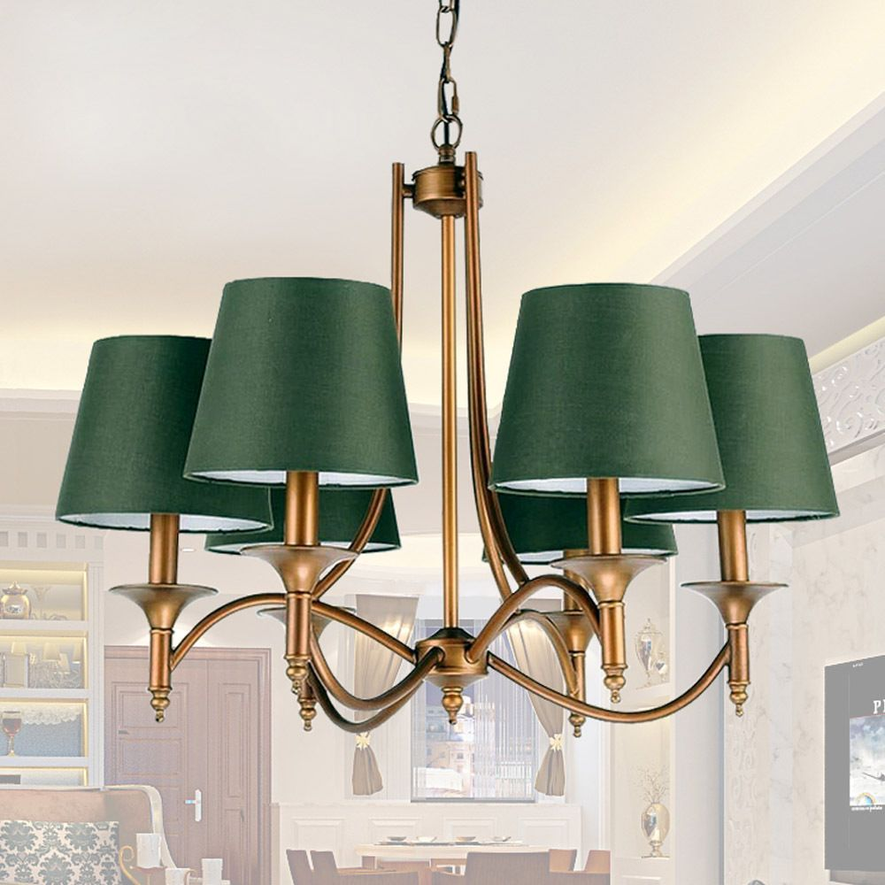 Chandelier Lamp Shades Clip On Lampshade Chandelier Retro