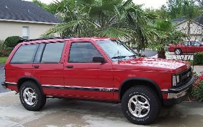 1991 Chevy S10 Blazer Our 1st Suv The Perfect Car For Our