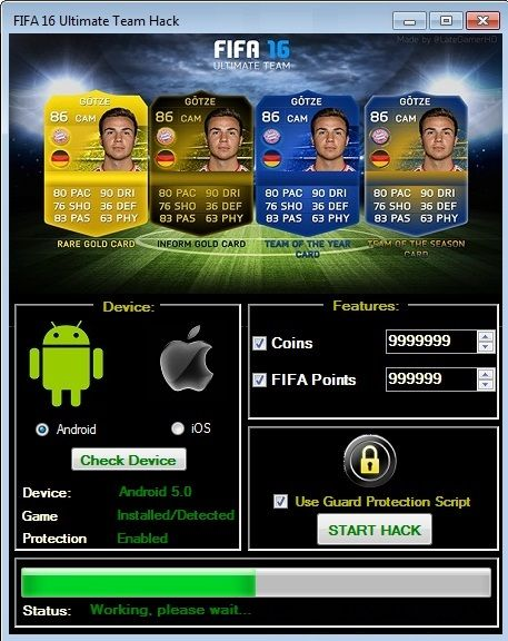 The Fifa 16 Ultimate Team Hack Unlimited Points And Coins Is Ready For Download Use Fifa 16 Ultimate Team Hack Unlimited P Soccer Game Download Free Hacks