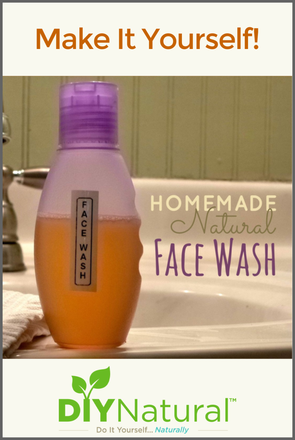 Photo of Homemade Face Wash: A Natural Chamomile DIY Face Wash Recipe