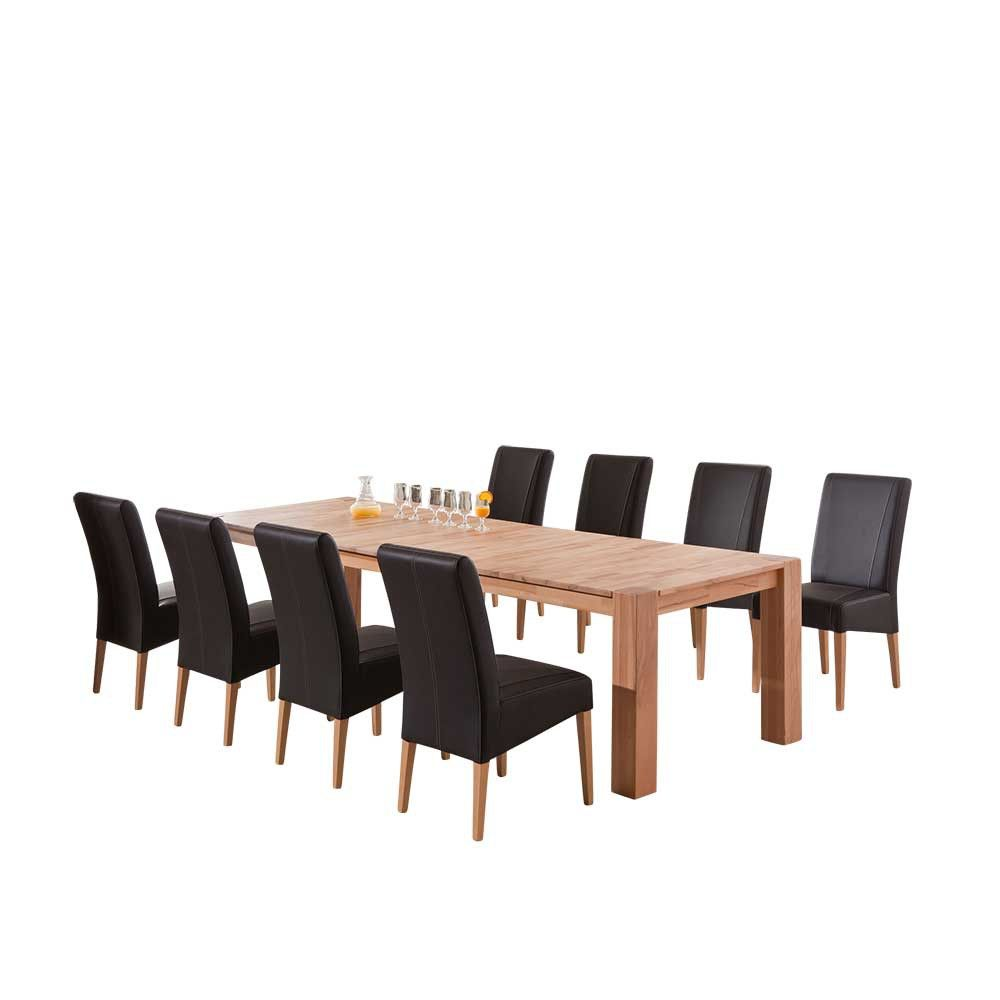 ausziehbar mit sthlen perfect esstisch ausziehbar mit sthlen genial esstisch ausziehbar mit. Black Bedroom Furniture Sets. Home Design Ideas
