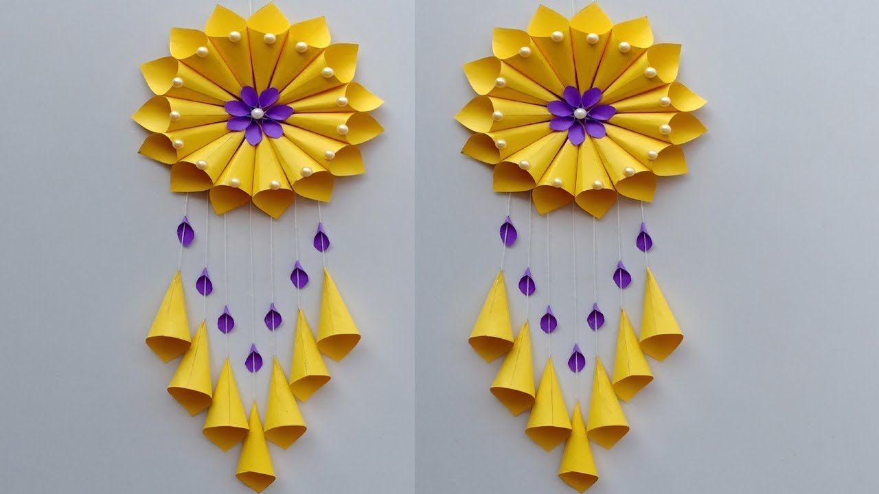 Paper Wall Hanging Diy Paper Sunflower Wall Hanging Ideas Wall