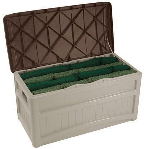 Large Outdoor Storage Box Patio Deck Bin Pool Container Tool