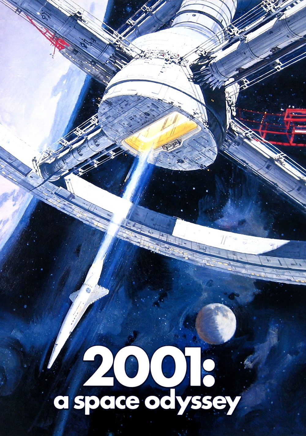 2001 a space odyssey movie poster image fanart