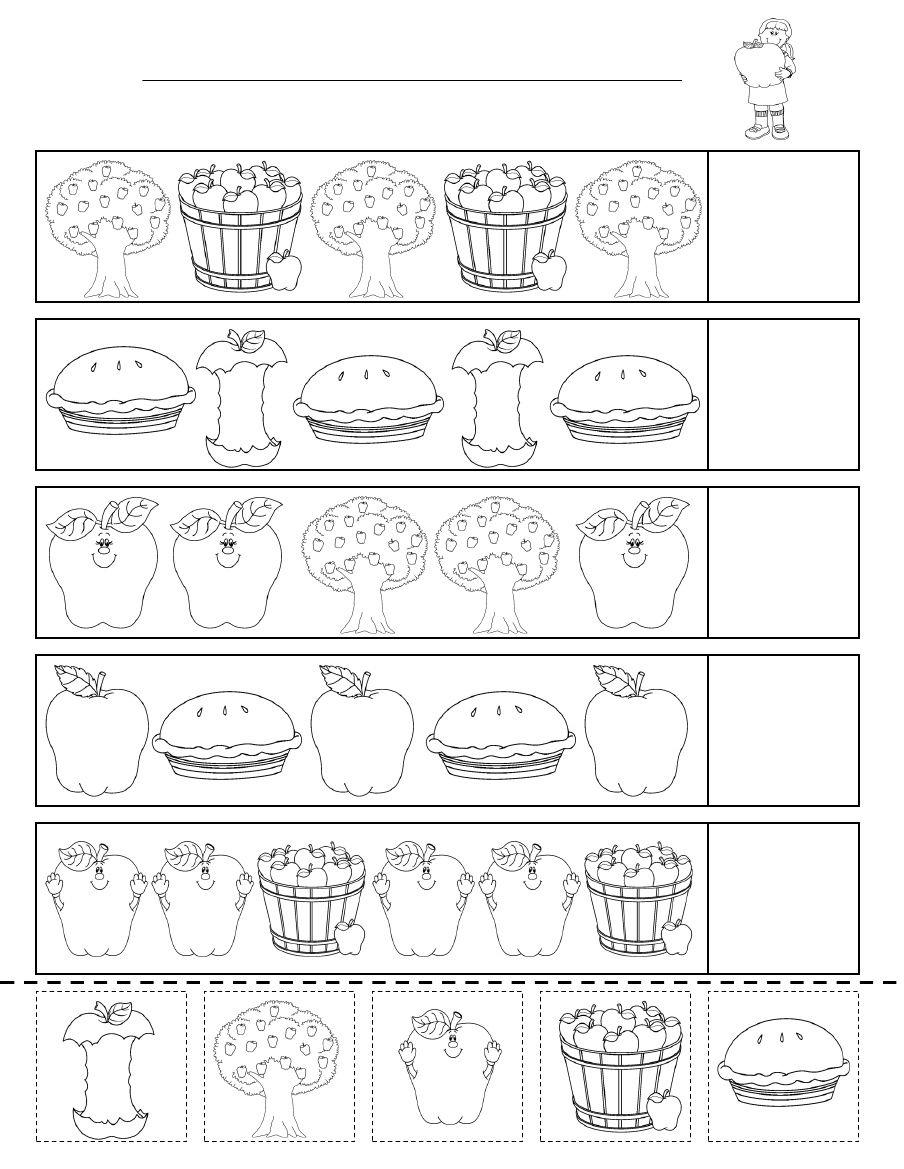 Pattern Worksheets Kidzone Topsimages