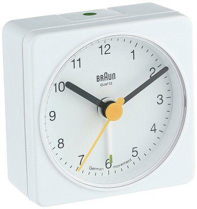 Braun Bnc002whwh Classic Analog Quartz Alarm Clock Clock Analog