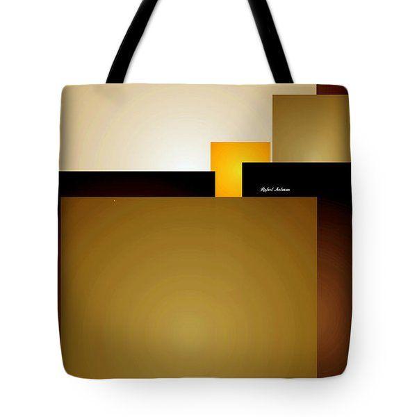 A Hint Of Yellow Tote Bag by Rafael Salazar