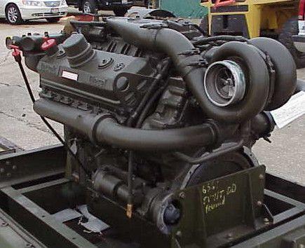 Detroit Diesel 8V71 engine | engines | Detroit diesel, Truck