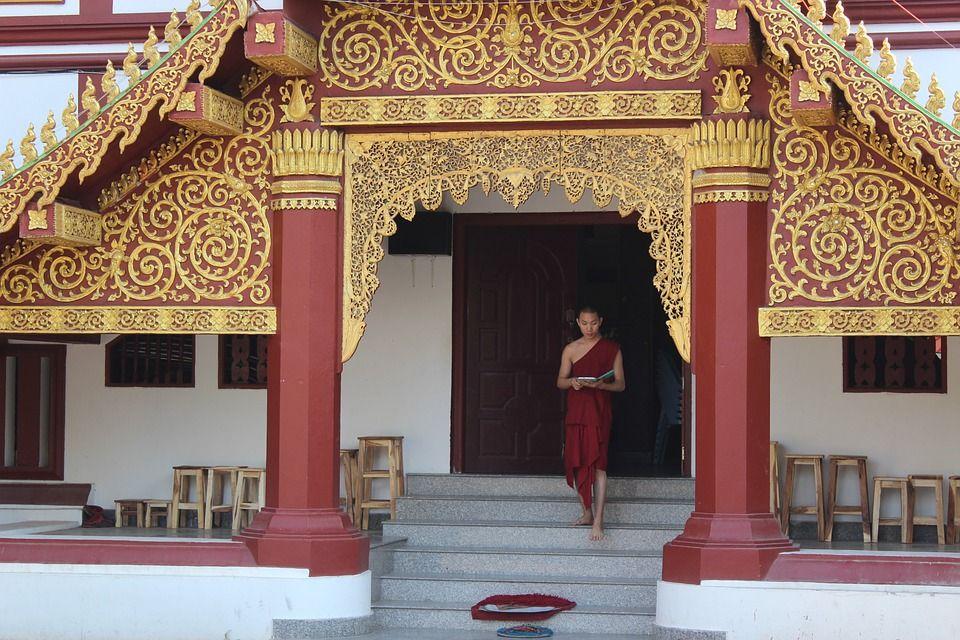 Thailand, Tempel, Thailändisch, Buddhismus, Wat, Asien