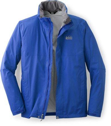 e6e2af3a4d REI Co-op Men's Rainier Rain Jacket Tall Sizes Maritime Blue XXL Tall