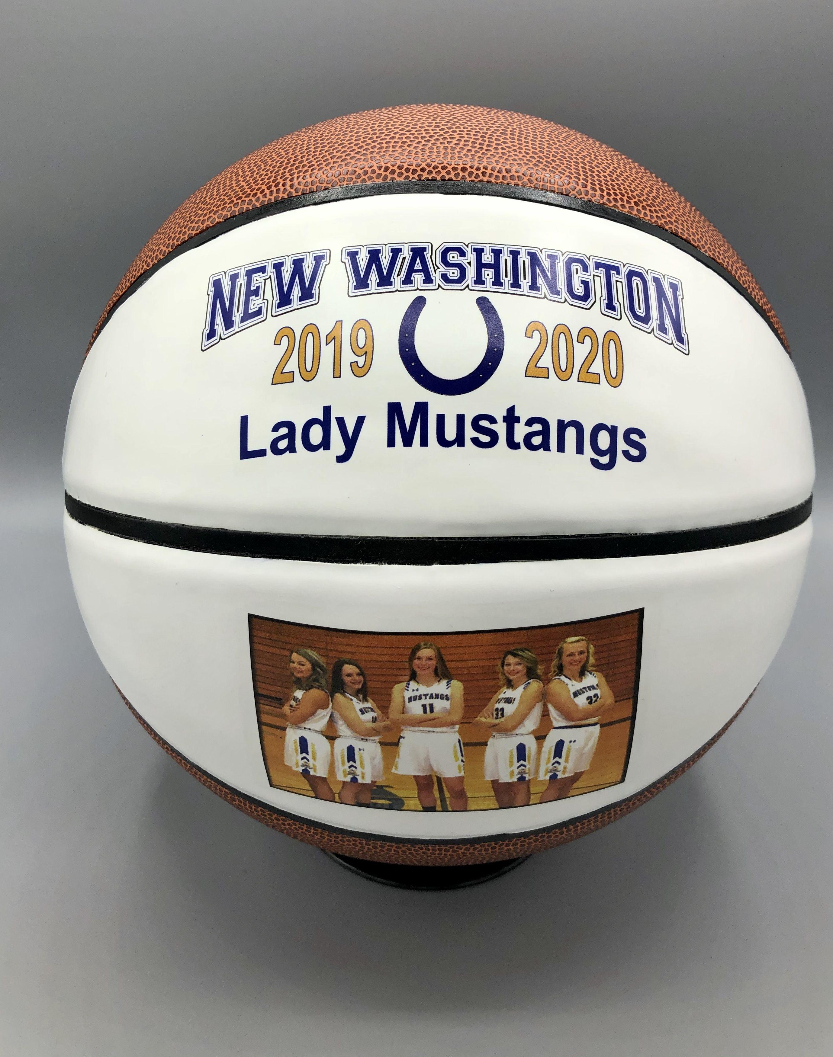Custom made basketball makes the perfect senior gift