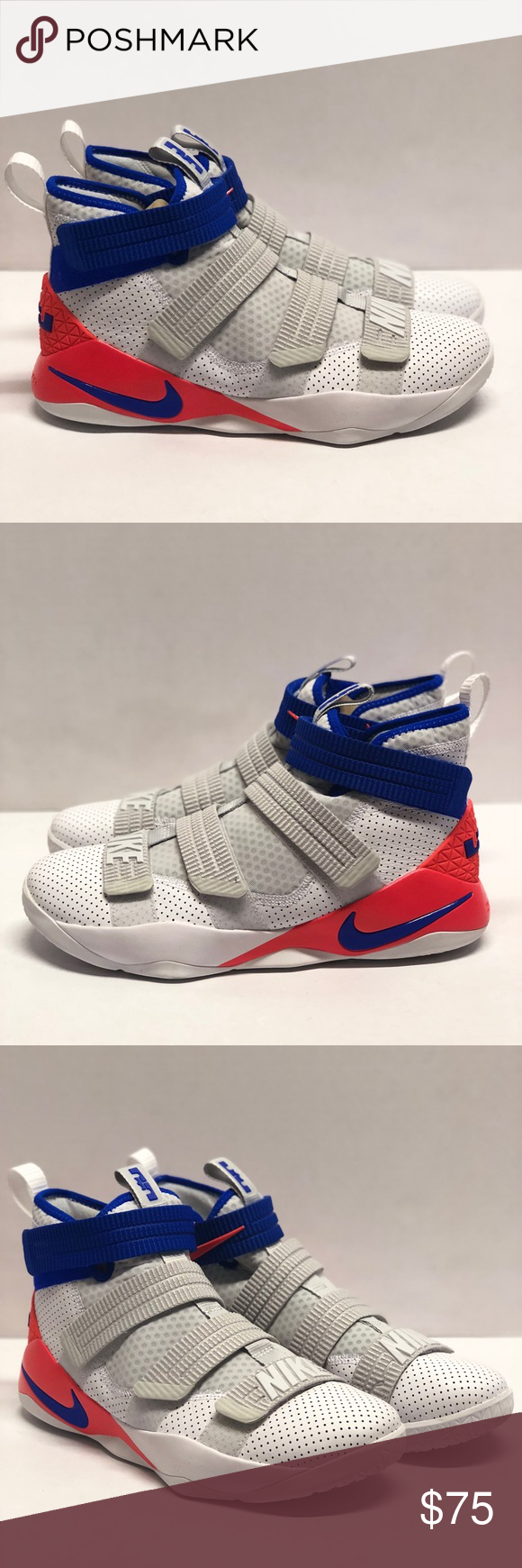 a398ed74d5fc Nike LeBron Soldier XI sfg Mens Sz 11 12 shoes Brand new open box ...