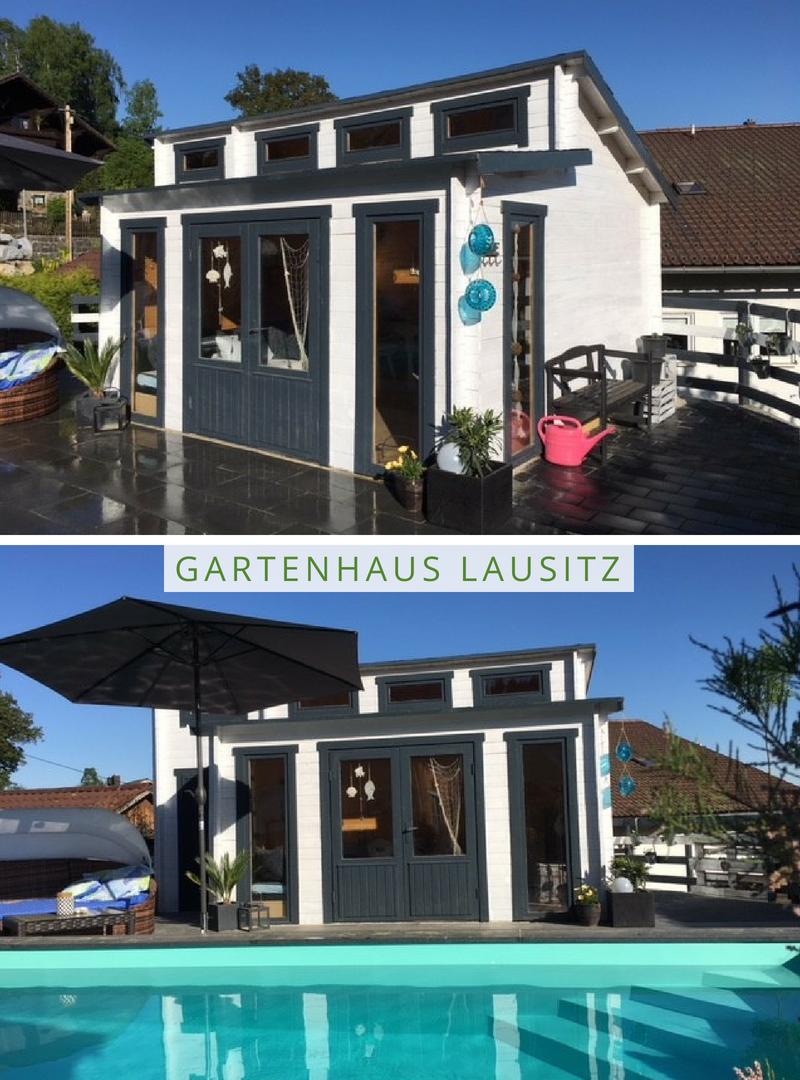 Gartenhaus Lausitz40 ISO mit Anbau (mit Bildern