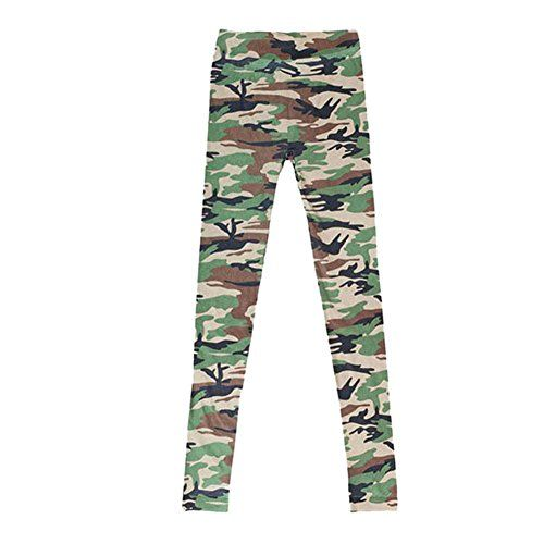 Fedi Hot Style Girls Sexy Camouflage Printed Leggings Pants Legging Nice New
