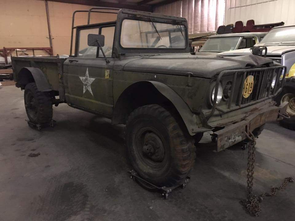 Jeep Truck J10 Army With Images Jeep