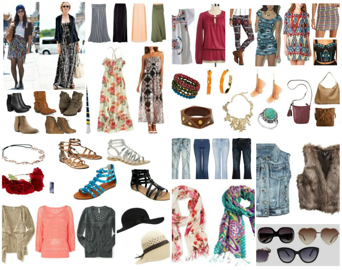15 Must Have Items For A Bohemian Chic Wardrobe Plus 45