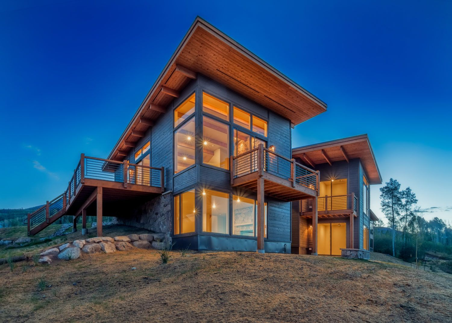 Modern Homes Colorado Summit Sky Ranch (With images
