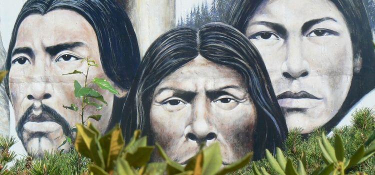 Murales en la isla de Vancouver, BC