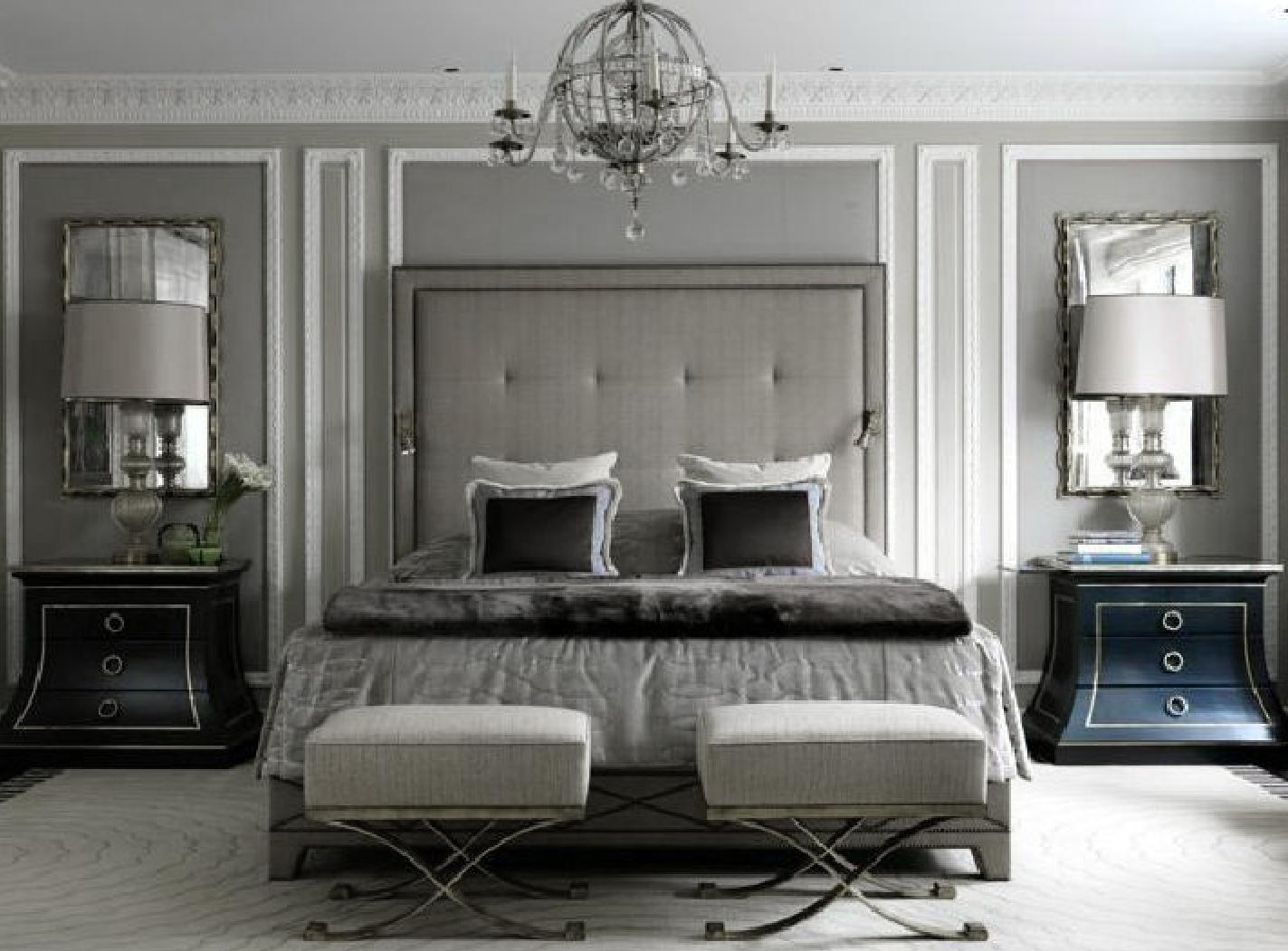 captivating jl deniot paris living room apartm | Dove Gray Home Decor ♅ J L Denoit grey inspired bedroom ...