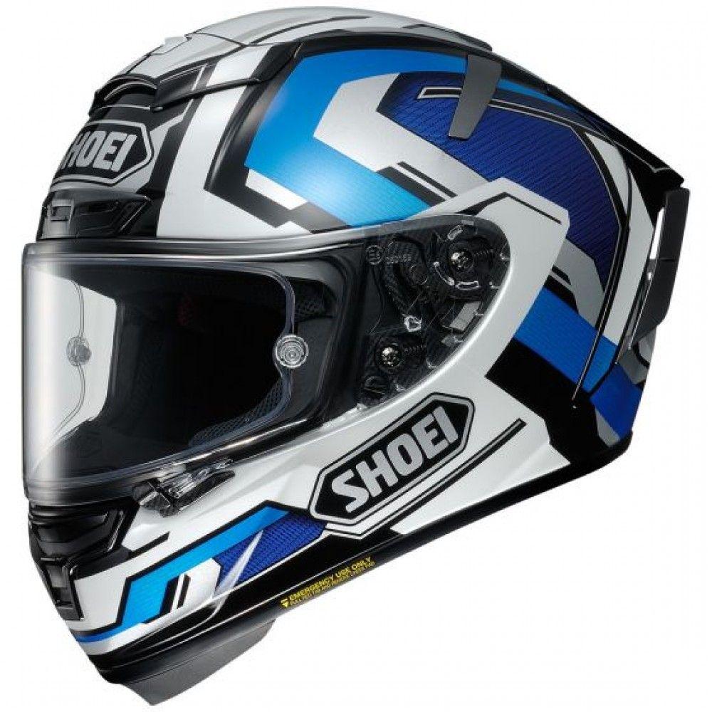 Shoei X Spirit Iii Brink Tc 2 Helmet Shoei Helmets Motorcycle Helmets Full Face Motorcycle Helmets