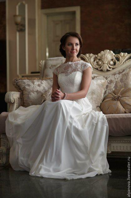 dc61390ad09 Одежда и аксессуары ручной работы. Ярмарка Мастеров - ручная работа. Купить  Свадебное платье.