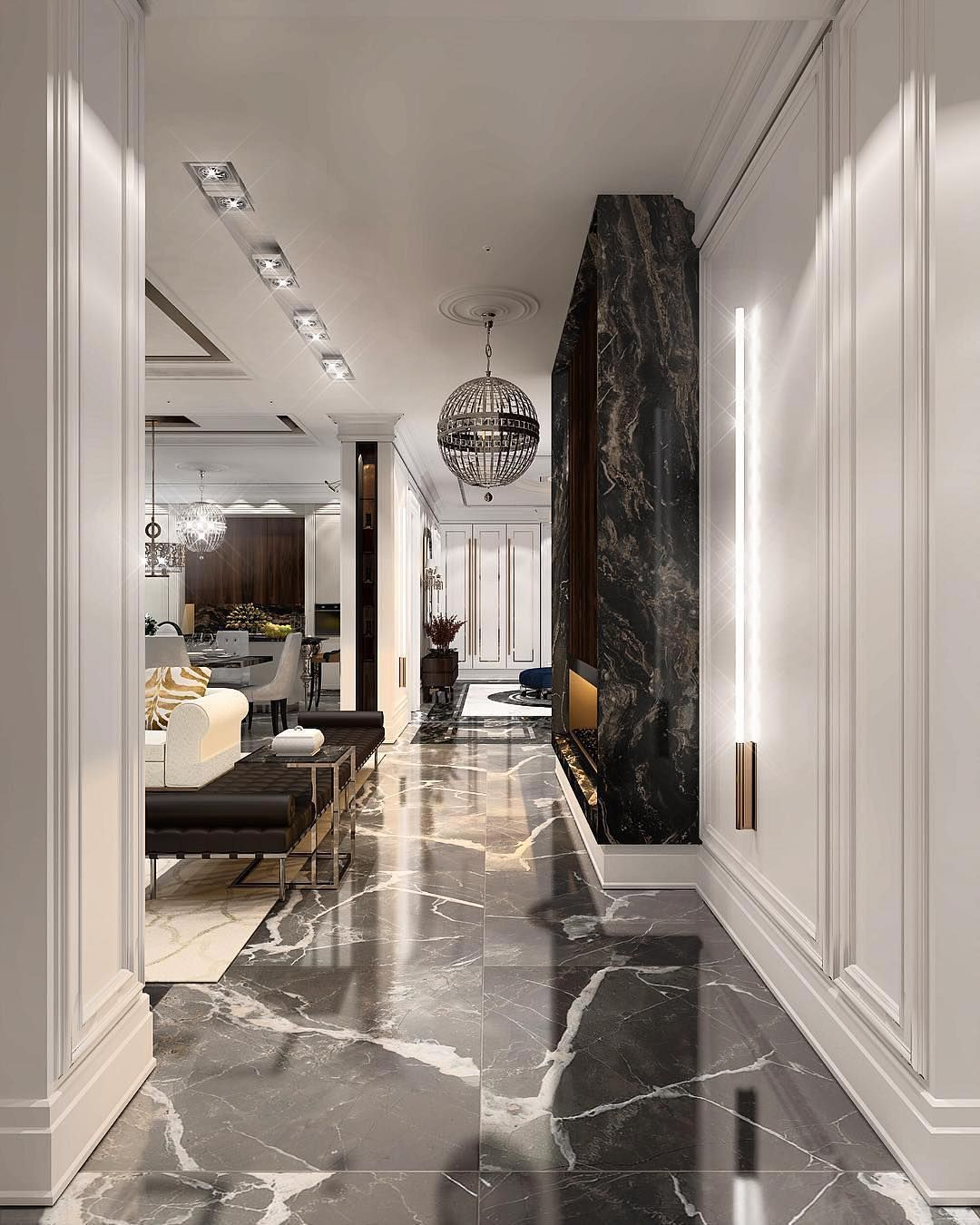 """Ultra Luxury Apartment Design: THE LUXURY INTERIOR On Instagram: """"Yes Or No? Ultra"""