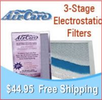 ELECTROSTATIC FURNACE FILTERS replace standard throw-away disposable air filters. http://www.healthyhomefilterco.com/boair.html