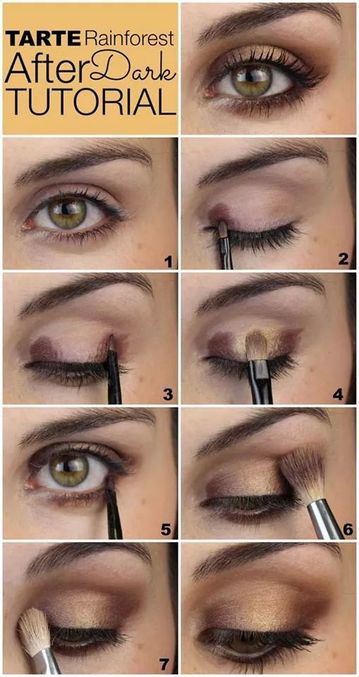 How To Do Cute Eye Makeup For Brown Eyes Makeup Pinterest