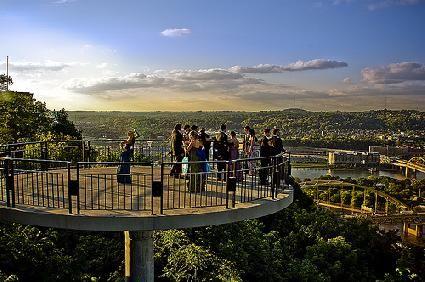 Observation deck Mt. Washington Pittsburgh, PA   Mt ...