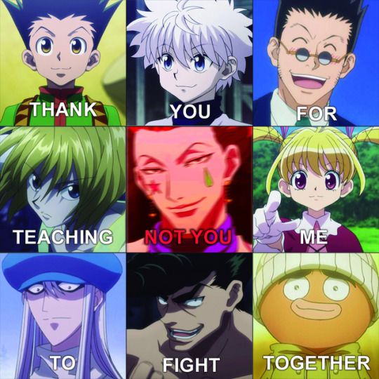Image About Hunter X Hunter In Random Animation By Sachii