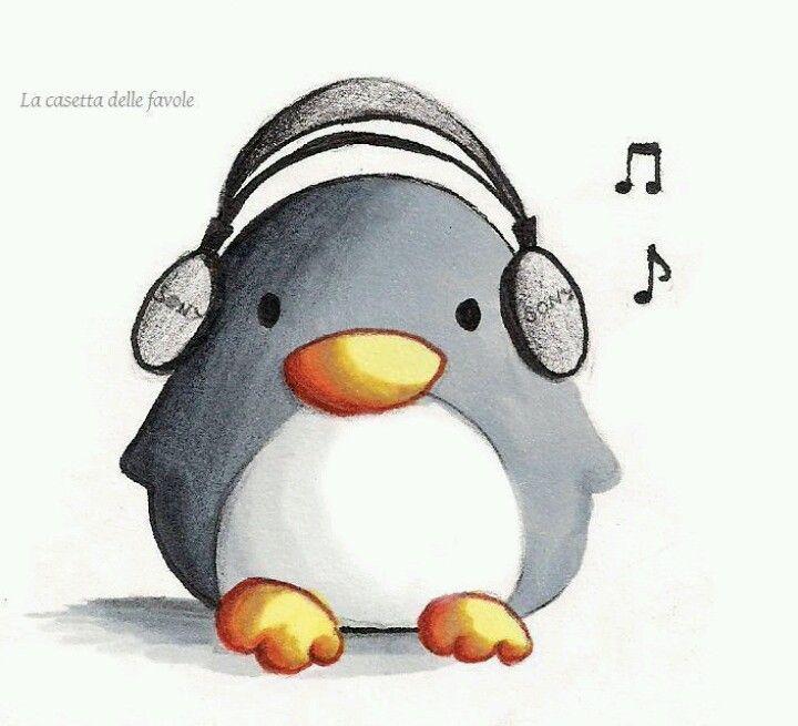 músico | Pinguino | Pinterest | Músicos, Dibujo y Regalitos